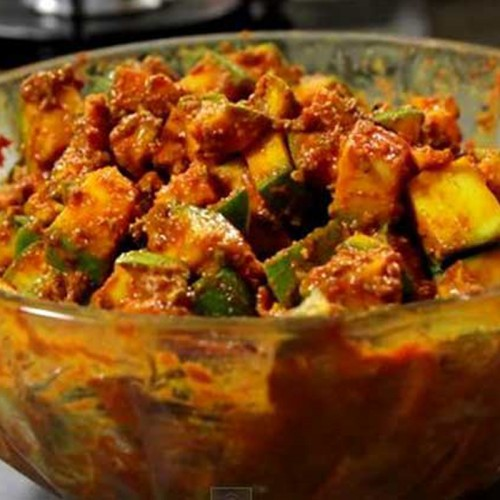 Mango Pickle Without Oil Homemade Healthy