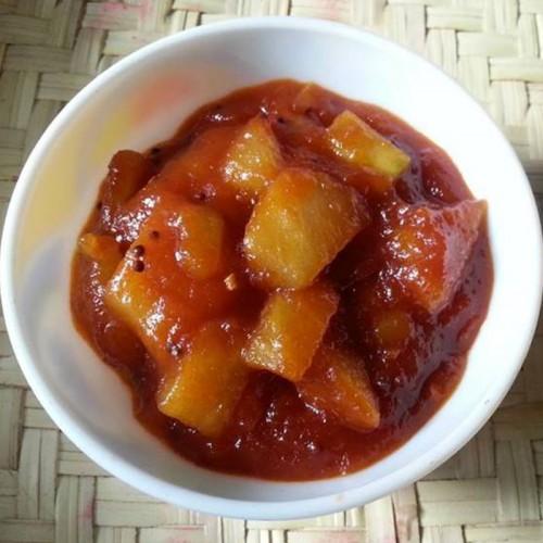 Sweet Mango Pickle Homemade