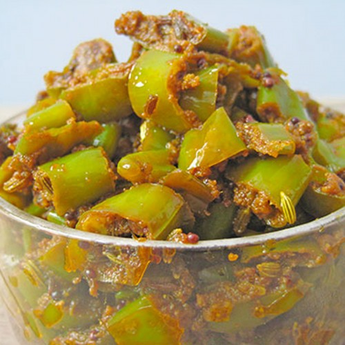 Chilly Pickles-Mirchi achaar