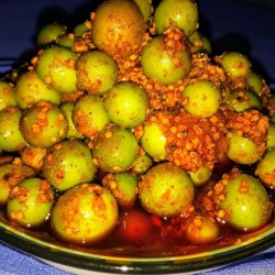 Karvanda achaar - Carissa carandas homemade Pickle