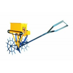 A-I Single Row Seed Cum Fertilizer Drill (Manually Operated)