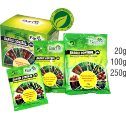 BRX Barrix Control Organic Nutrition And  multi-action plant growth promoter and supporter.