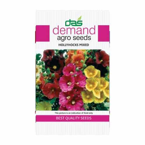 Demand agro seeds ( Hollyhocks mixed )