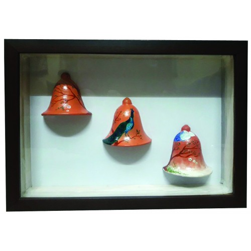 Decorative Wall Hanging Bells With Frame - Handmade