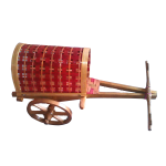Bullock Cart with roof Handmade by Tribal Farmers