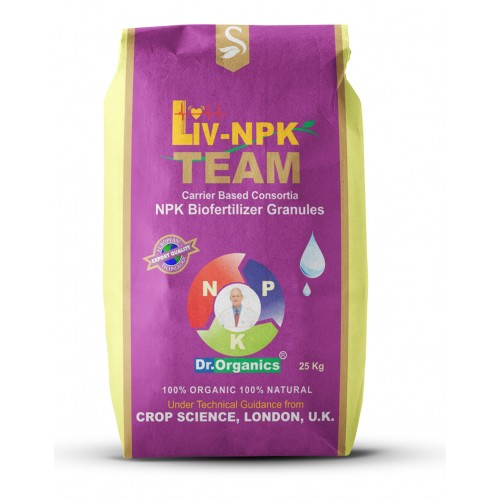 LivNPK Team Granules 25kg Bag