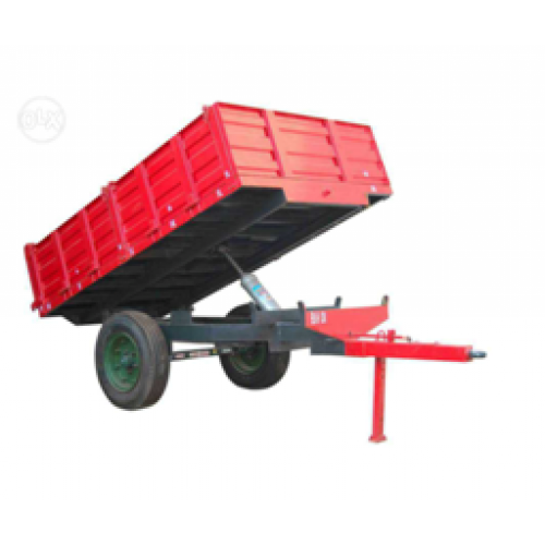Hydraulic Tractor Trolly 8X5X1.5 Feets WITH TYRE 7.50X16