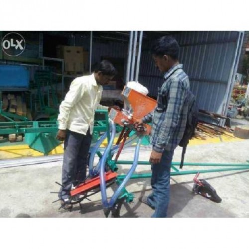 Operated Seed Drill