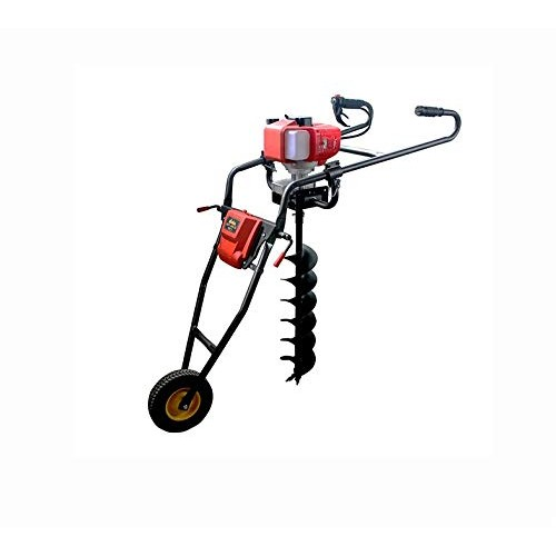RJ Electronic - HAND PUSH EARTH AUGER 63cc | Earth Auger Hand Push