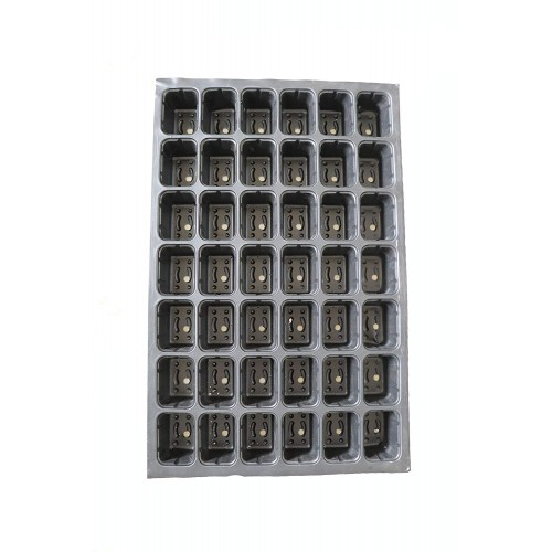 Seedling Tray 43 Holes Or Cells Nursery Pro Seedling Tray ( Pack of 10 )