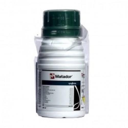 Syngenta MATADOR - Lambda Cyhalothrin 4.9 % CS - 250 ML