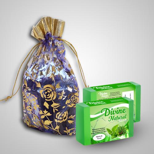 Handmade Divine Natural Neem Tulsi  soap
