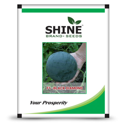 Hybrid water melon seeds-F1 Black Diamond- 10 gram